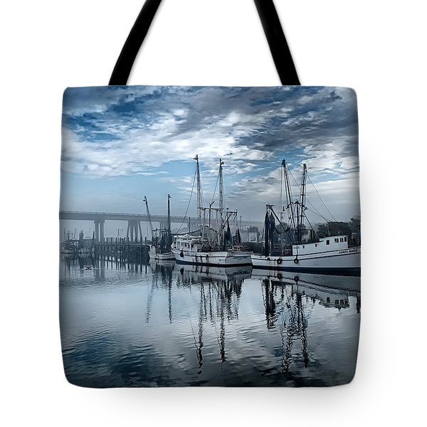 Ladies In Waiting - Blue Tote Bag