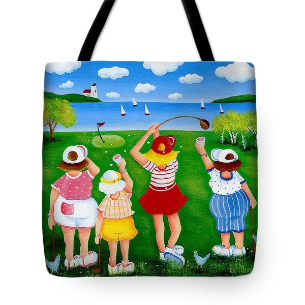 Ladies League Door County Tote Bag