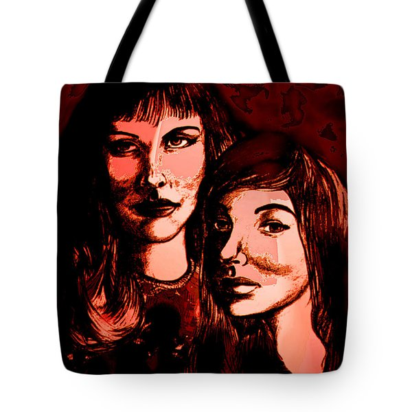Ladies Night Tote Bag by Natalie Holland