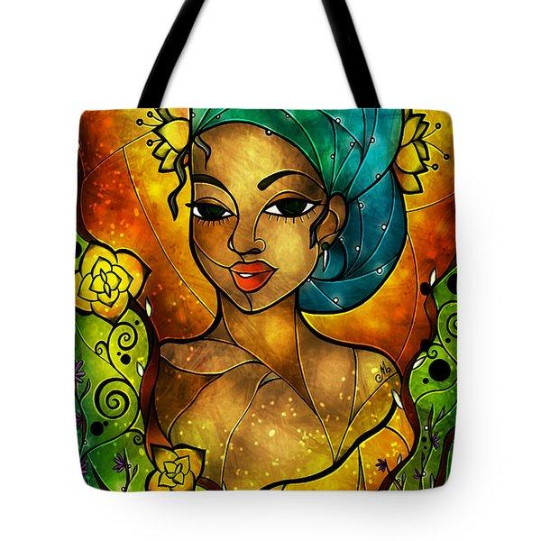 Lady Creole Tote Bag