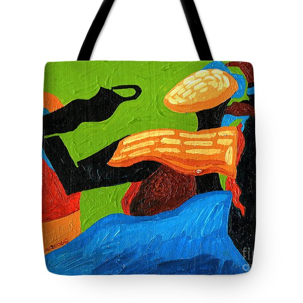 Lady Enigmatic Rock Tote Bag by Genevieve Esson