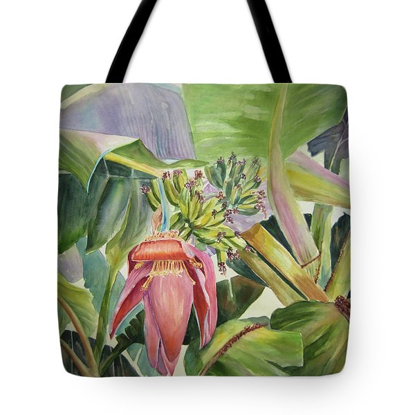 Lady Fingers - Banana Tree Tote Bag