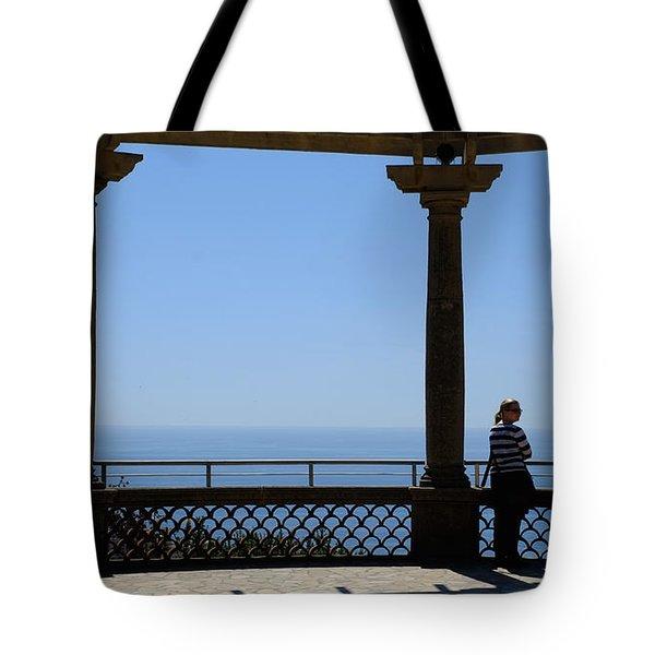 Lady In Monaco Tote Bag