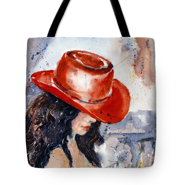 The Red Hat Tote Bag