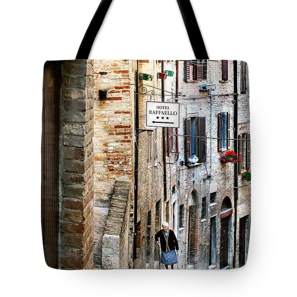 Lady In Urbino Tote Bag