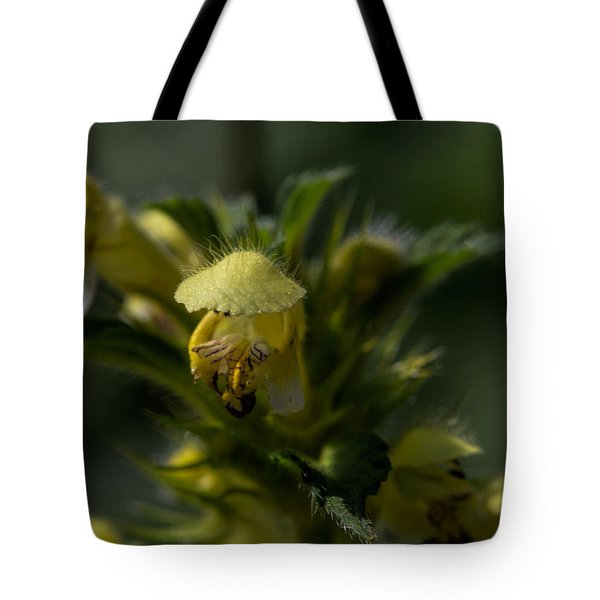 Lady In Yellow Dress Tote Bag