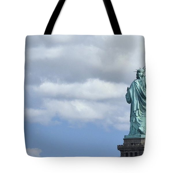 Lady Liberty   1 Tote Bag by Allen Beatty