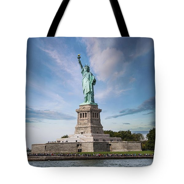 Lady Liberty Tote Bag by Juli Scalzi