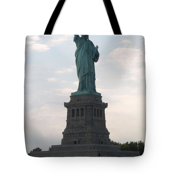 Tote Bag featuring the photograph Lady Liberty by Luther Fine Art