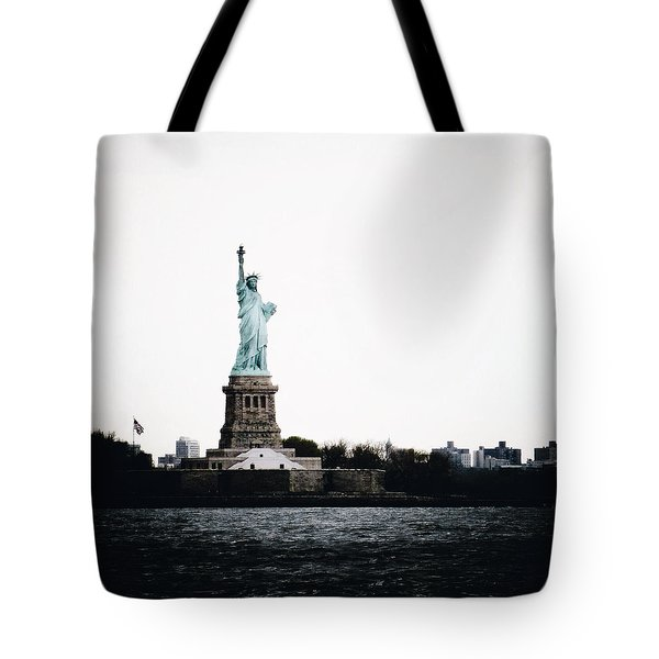 Lady Libery Tote Bag by Natasha Marco