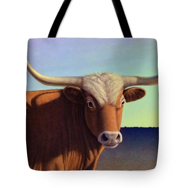 Lady Longhorn Tote Bag