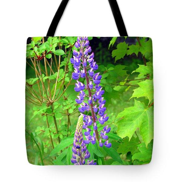 Lady Lupine Tote Bag