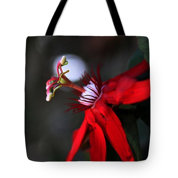 Lady Margaret - Passionflower  Tote Bag by Ramabhadran Thirupattur