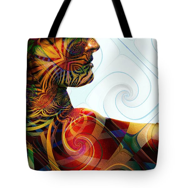 Lady Masquerade Tote Bag