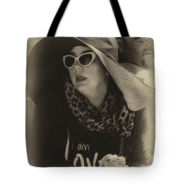 Lady Of Fashion Tote Bag by Rene Triay Photography