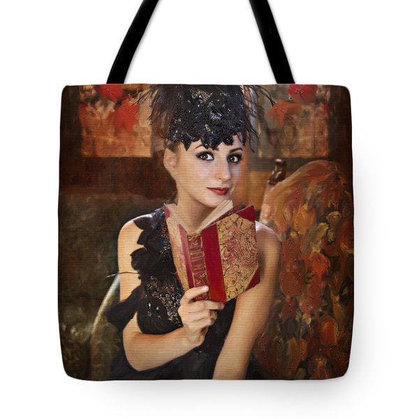Lady Of Means In Olden Times Tote Bag by Angela A Stanton