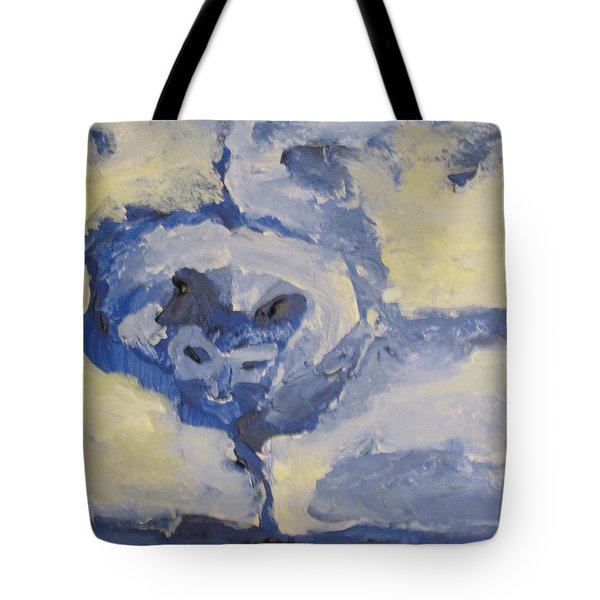 Lady On The Coach  Tote Bag