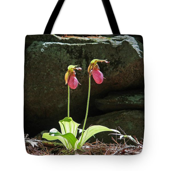 Lady Slippers At Moore State Park 5 Tote Bag