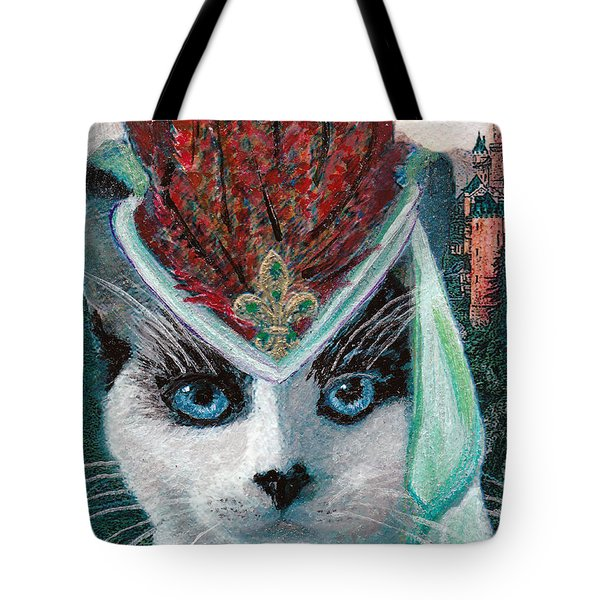 Lady Snowshoe Tote Bag