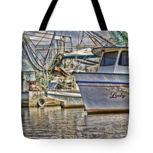 Lady Vera Tote Bag by Scott Pellegrin