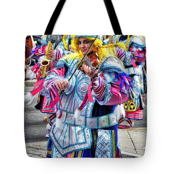Lady Viking Mummer Tote Bag