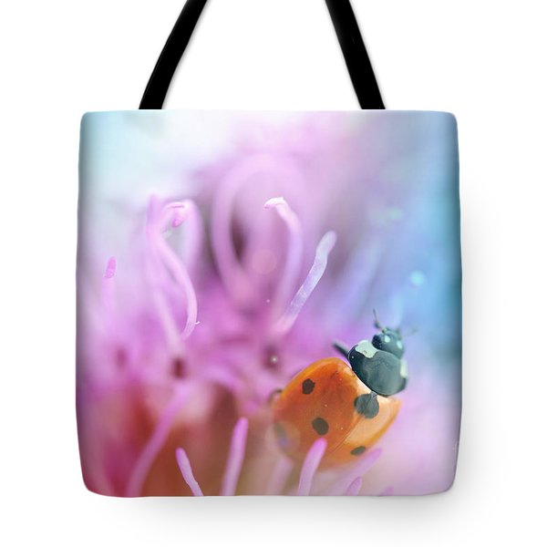 Ladybug Tote Bag by Martin Capek