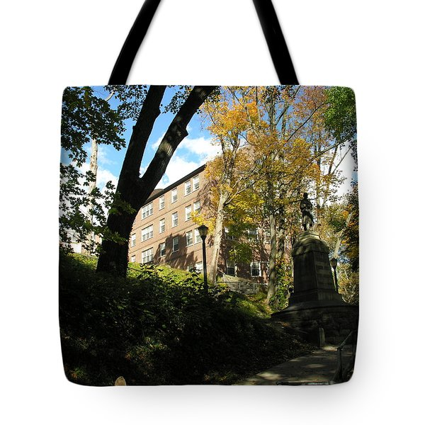 Lafayette College Easton - Town Meets Gown Tote Bag by Jacqueline M Lewis