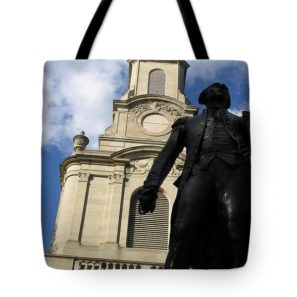 Lafayette College Easton Pa Tote Bag by Jacqueline M Lewis