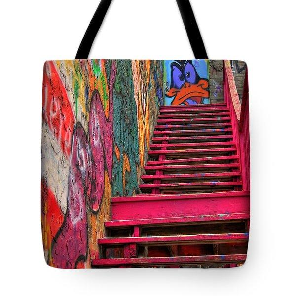 Laffy Daffy Tote Bag