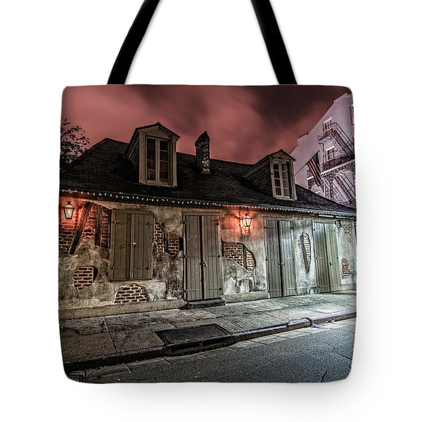 Lafitte's Blacksmith Shop Tote Bag