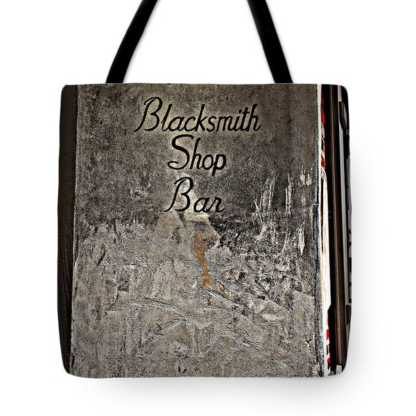 Lafitte's Blacksmith Shop Bar Tote Bag