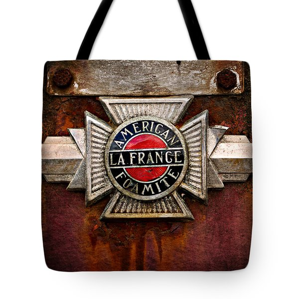 Lafrance Badge Tote Bag