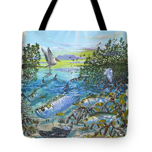 Lagoon Tote Bag by Carey Chen