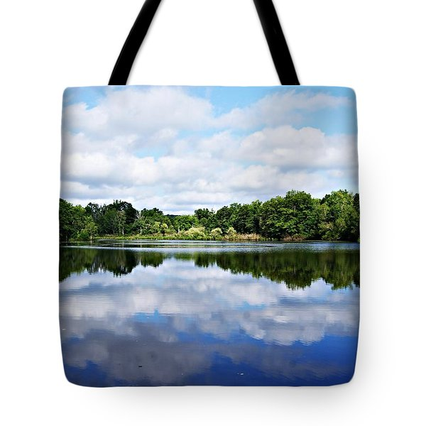 Lagoon IIi Tote Bag by Joe Faherty