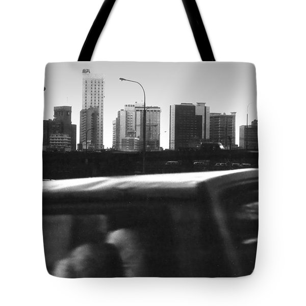 Lagos Skyline At Dusk Tote Bag
