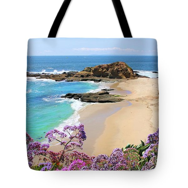 Laguna Beach Coastline Tote Bag