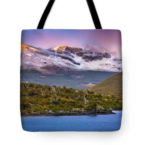 Laguna Capri Sunrise Tote Bag