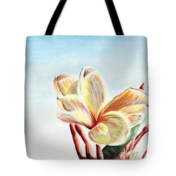 Laguna Flower Tote Bag