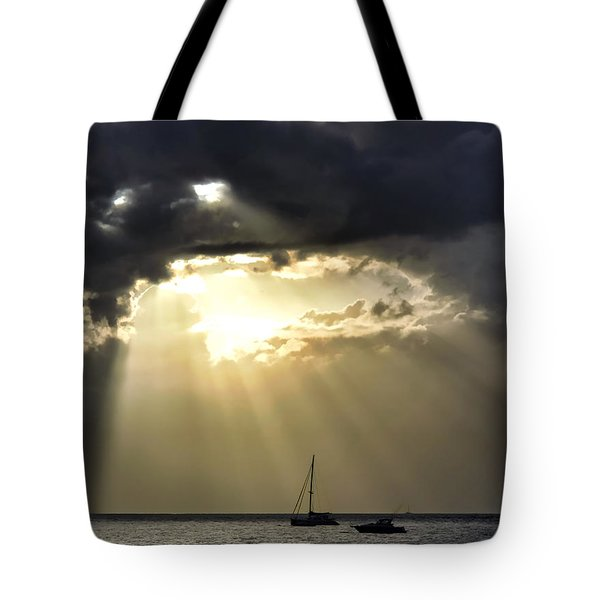 Lahaina Sunset 2 Tote Bag by Dawn Eshelman