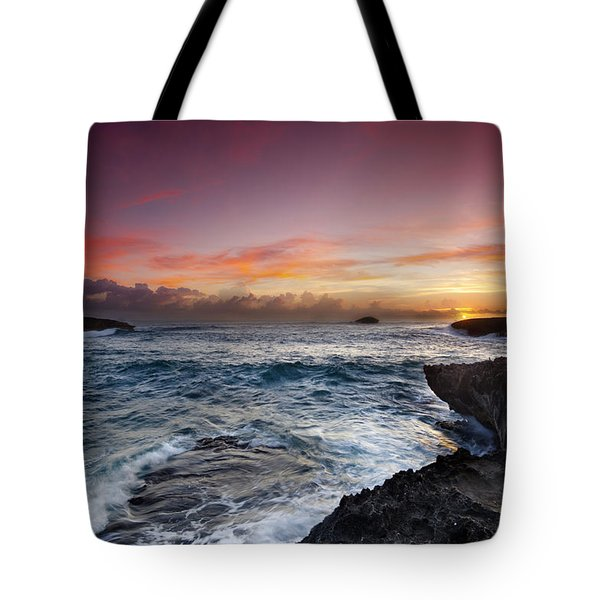 Laie Point Sunrise Tote Bag
