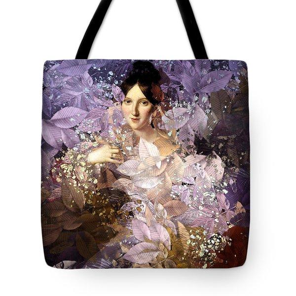 Laila - Des Femmes Et Des Fleurs Tote Bag