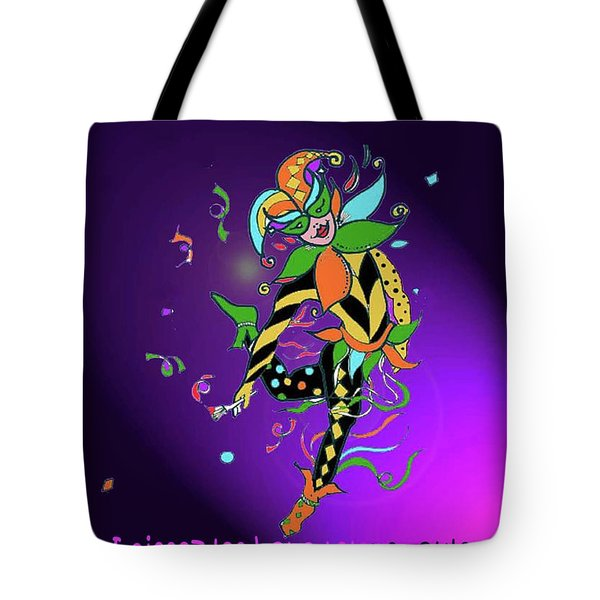 Laissez Les Bon Temps Rouler Tote Bag by Lizi Beard-Ward