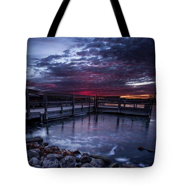 Lake Alvin Tote Bag