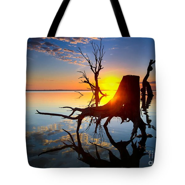 Lake Bonney Sunrise Tote Bag
