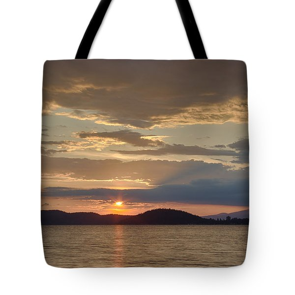 Lake Coeur D Alene Tote Bag