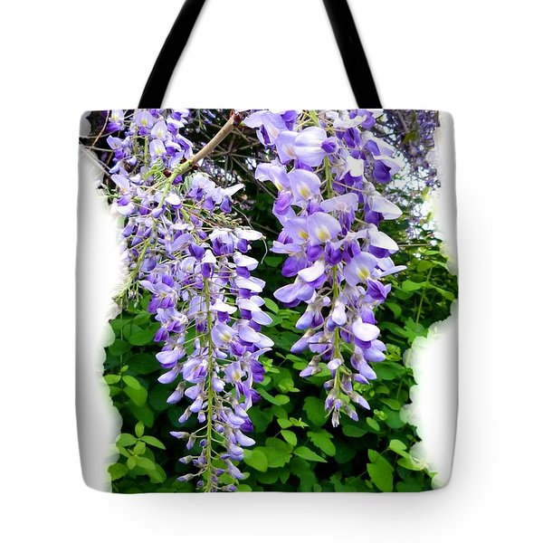 Lake Country Wisteria Tote Bag