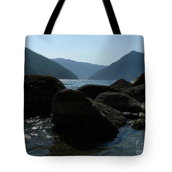 Tote Bag featuring the photograph Lake Crescent by Jane Ford
