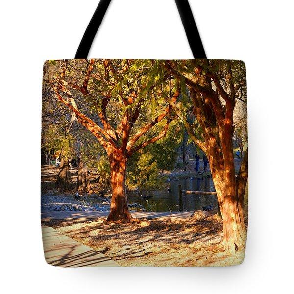 Lake Ella Trail Tote Bag