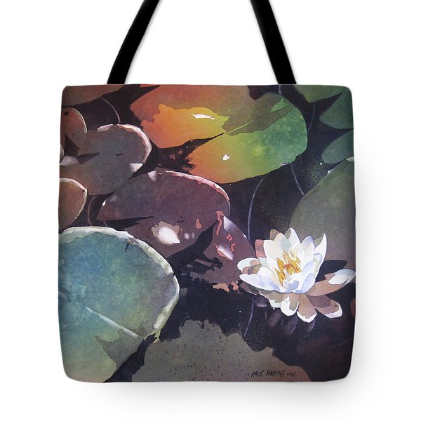 Lake Garden Tote Bag