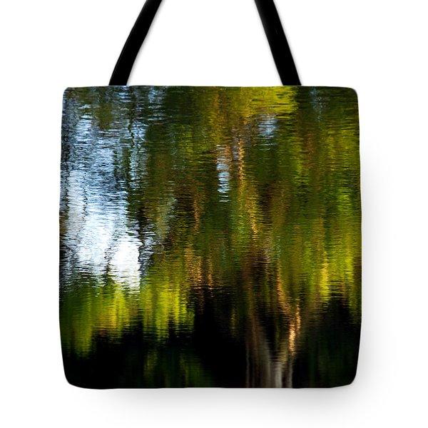 Lake In Green Tote Bag